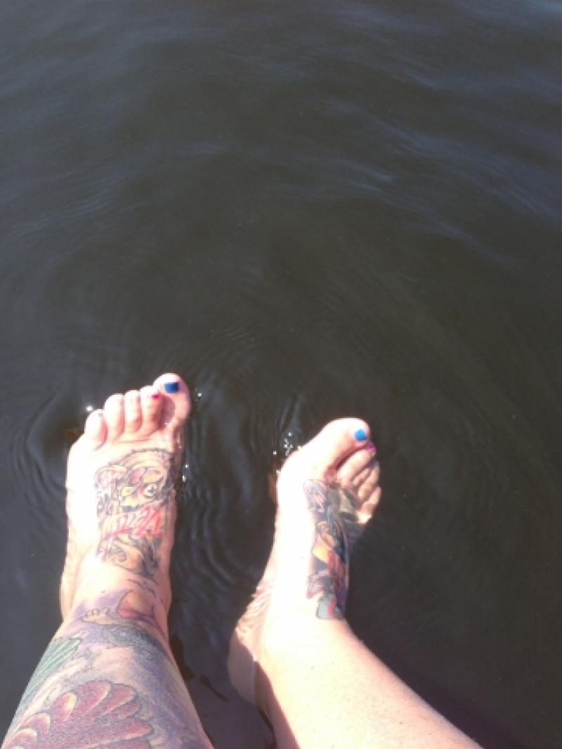 Ein schöner Tag auf dem Boot:)